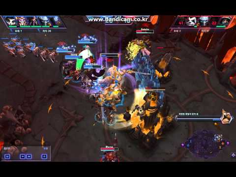 Heroes Of The Storm - Force Wall play