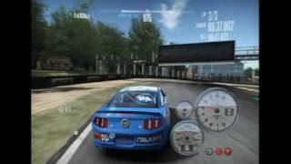 NFS Shift - Falken Tire Ford Mustang Gameplay