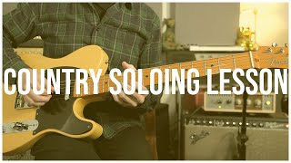 Country Soloing Over The Byrds You Ain't Goin' Nowhere