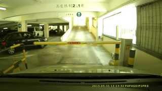 漁灣邨停車場 -- 進場