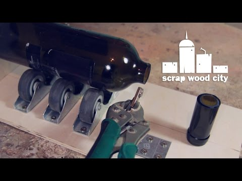 diy jig for making bottleneck slides youtube. Black Bedroom Furniture Sets. Home Design Ideas