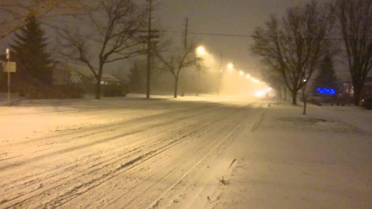 Toronto & Southern Ontario Winter Storm (12.28.2015)