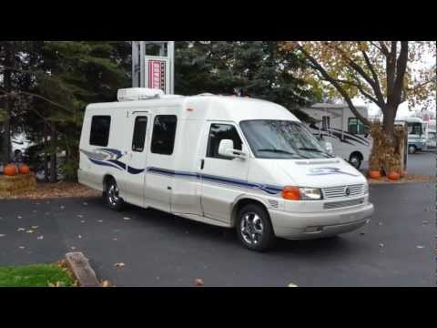 02 Used Winnebago Rialta 22QD for sale at Barrington Motor Sales in Bartlett, Illinois