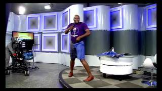 Dr Malinga performing at Morning Live studio MUSIC
