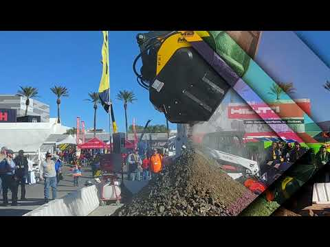 MB Crusher America At World Of Concrete 2018