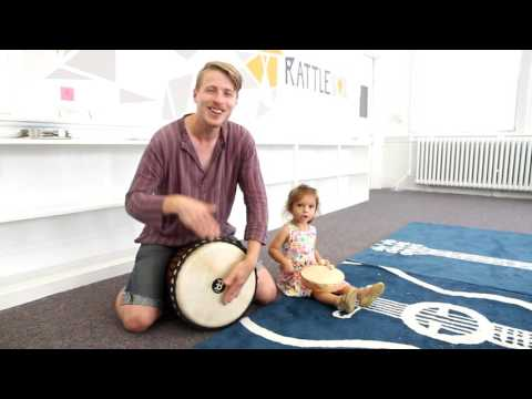 Hey Oh! Drum Circle Song! By Mr. Aaron