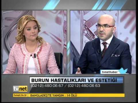 Op.Dr.Süreyya Şeneldir - Burun Hastalıkları ve Estetiği ( Tvnet Haber )