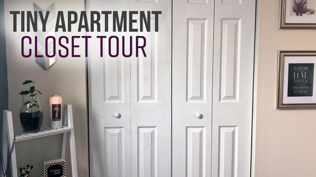 Tiny Apartment Tour My Closet Practical Minimalism For Small