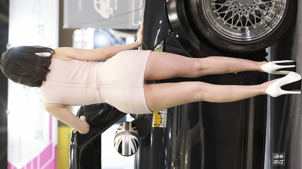 4K 레이싱모델 송주아 #19 가로 직캠 Racing Model Song Jua Horizontal 2018 오토위크 by 화질덕후