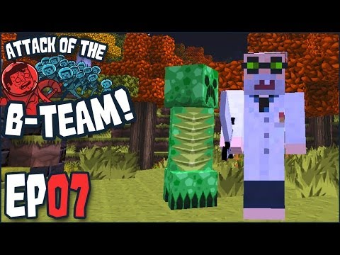 "Minecraft - Attack Of The B-Team Ep 07 - ""An Organized Hermit?!?!"" (B-Team Modpack)"