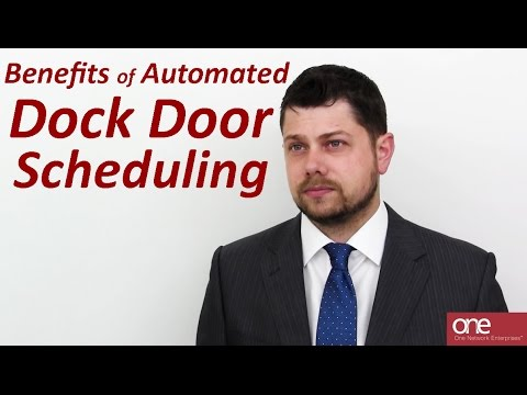 Benefits of Automated Dock Door Scheduling