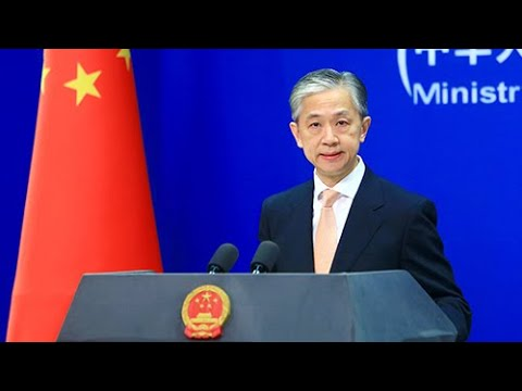 Chinese Foreign Ministry: China urges U.S., Australia to stop hyping up tensions