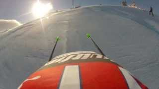 Worldcup Kvitfjell 2013. Life as a Downhill-skier. Gopro HD