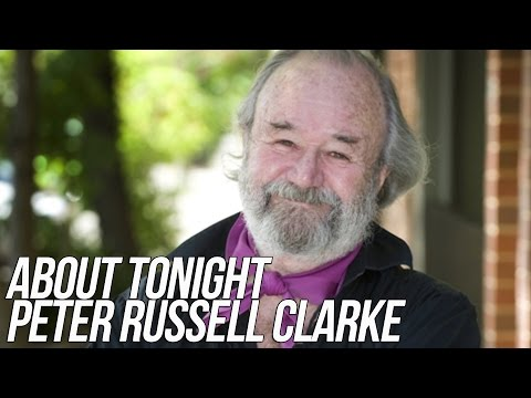 PETER RUSSELL CLARKE INTERVIEW - ABOUT TONIGHT (22/1/15)