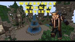 Minecraft Map Review Elven City of Ethrow YouTube