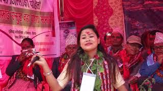 सुसिला थापाकाे धमाकेदार प्रस्तुति टाेपिढाकैले   Sushila thapa Singing Topi Dhakaile Live