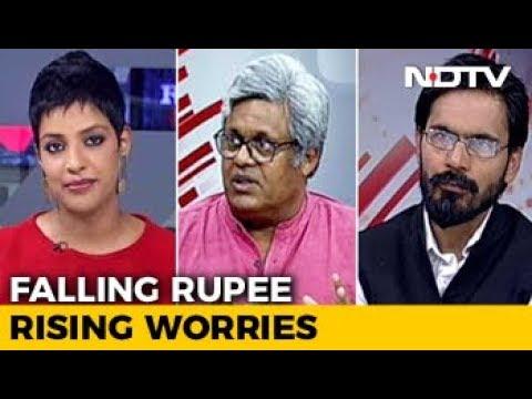 The Politics Of Falling Rupee