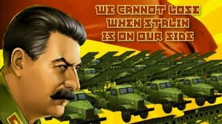 The 1st intermission in Stalin vs. Martians.