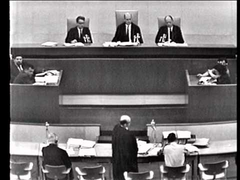 Eichmann trial - Session No. 25 , 26