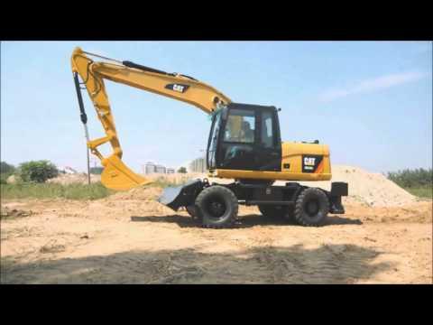 Колесные экскаваторы Cat® M315, М317 серии D2