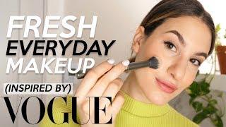 EVERYDAY FRESH MAKEUP: Vogue Inspired GRWM! | Jamie Paige