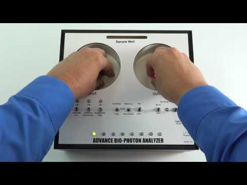 ABPA A2 Advance Bio-Photon Analyzer Quick Balance