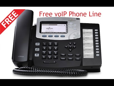 How To Get A Free VoIP Phone Line!