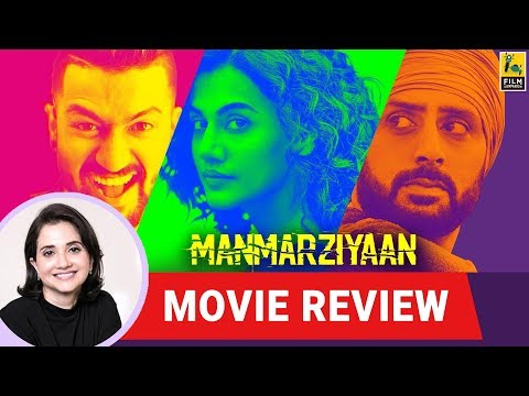 Anupama Chopra's Movie Review of Manmarziyaan | Anurag Kashyap | Taapsee | Vicky | Abhishek