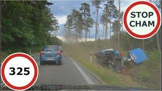 Stop Cham #325 - Niebezpieczne i chamskie sytuacje na drogach