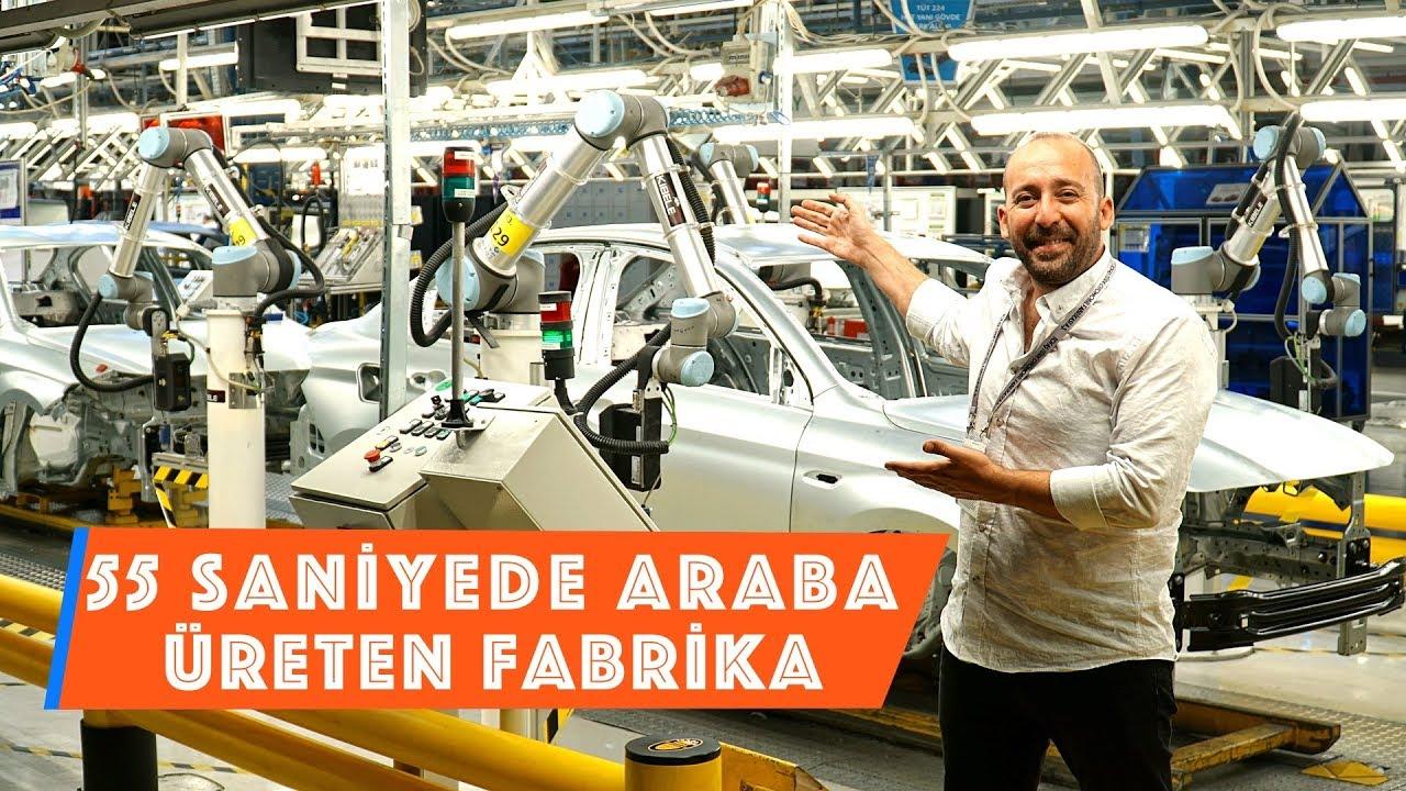 55 Saniyede Bir Araba Üreten Fabrika: Tofaş Türk