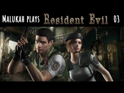 Malukah Plays Resident Evil 1 - Ep. 03