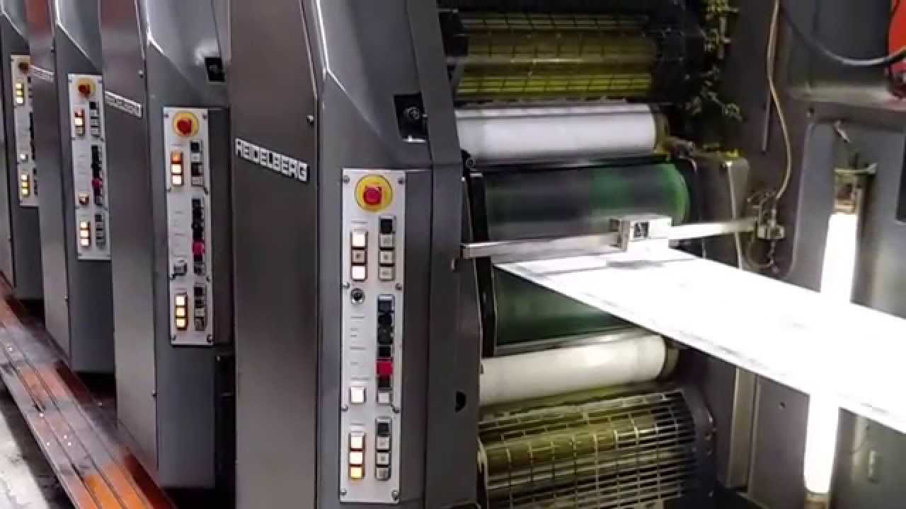 Web Offset Printing Machine Heidelberg Web 8 6 Color 1 Web Offset Press