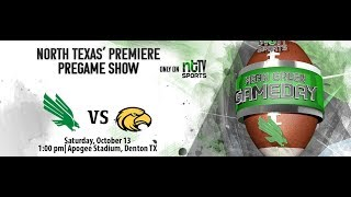 Mean Green Gameday Season 4 Episode 1 - UNT vs Southern Miss