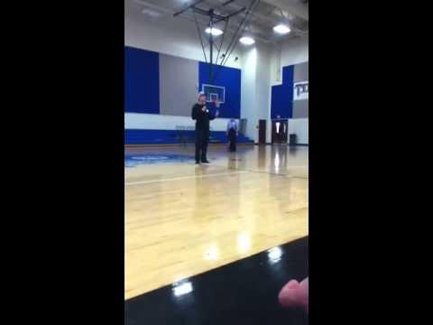 Justin tucker at John M Tidwell middle school