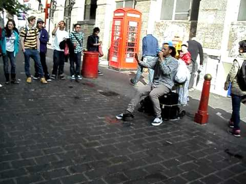 RTIZT Beat-Boxer; Chinatown, London