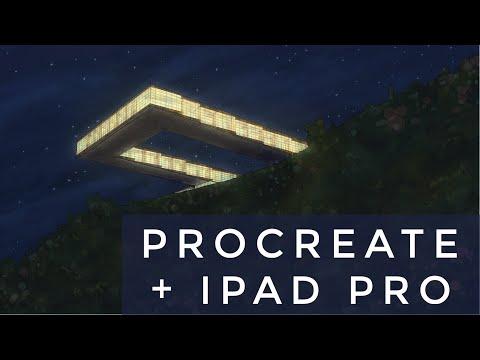 ✏️-procreate-&-ipad-pro---dibujo-arquitectura-/-architectural-renderings---hotel-02-(2019)