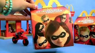 Disney the Incredibles 2 Happy Meal Surprise Toys from McDonalds