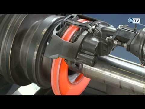 BPW Bremsenprüfstand / BPW brake test rig