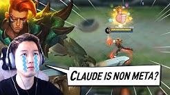 Other Marksmen are strong, How Do I play Claude in Solo Rank?