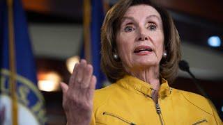 Pelosi dismisses impeachment calls after Trump 'foreign dirt' remarks