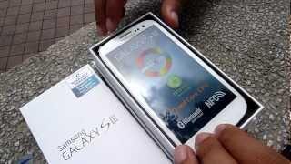 Unboxing: Samsung Galaxy S III
