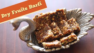 BEST Barfi Recipe | Homemade Dry Fruits Barfi | Indian Sweets | Divine Taste With Anushruti