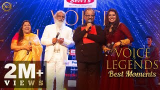 Best Moments of Voice of Legends 💫 | K.J Yesudas | SPB | K.S Chithra | Noise and Grains