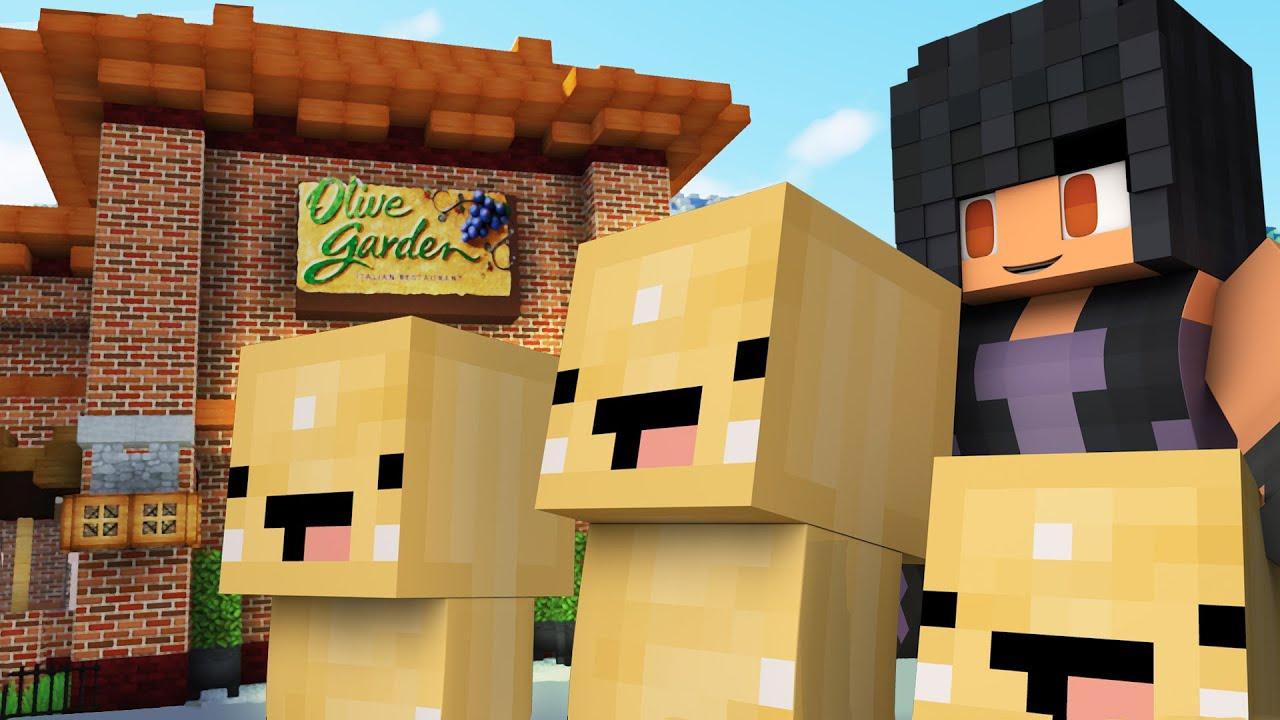 Olive Garden Hide And Seek | Bread Stick Minions!