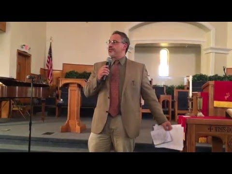 Jerry White speaks at teachers