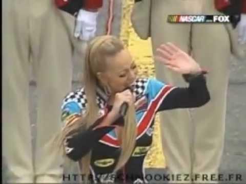 Mariah Carey  Star Spangled Banner Performance