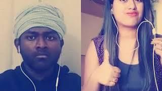 Ladki Badi Anjani Hai Cover Songs || Pooja Sarkar _ African Kumar Sanu Hits Hindi Dubbing Song