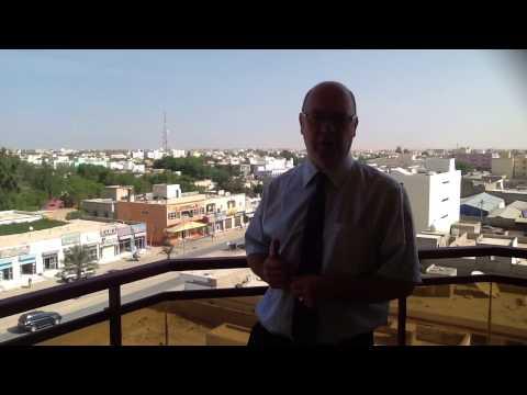 Foreign Office Minister Alistair Burt in Mauritania.