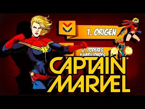 Quien es Ms. Marvel (Capitan marvel)? Poderes, Origen, Historia, Datos, Curiosidades.
