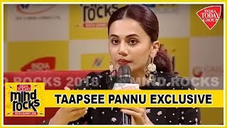 Taapsee Pannu Exclusive : It Took Me A Pink And Naam Shabana To Get A Judwaa 2 | Mind Rocks 2018